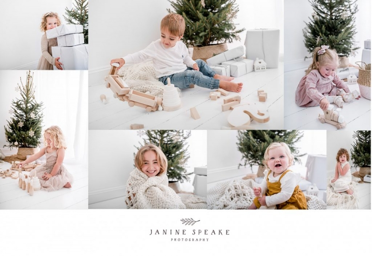 chrismtas mini sessions oswestry janine speake
