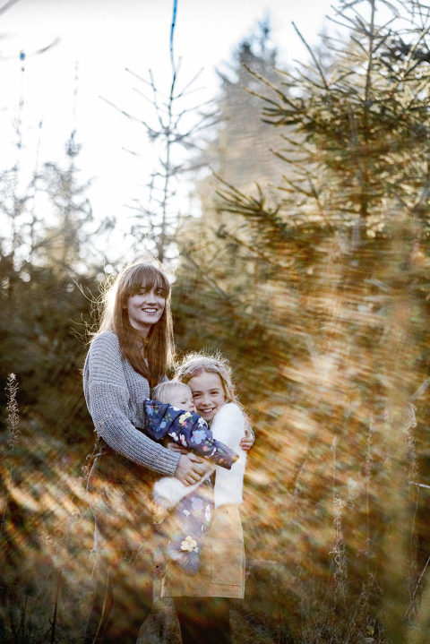 Llandegla forest family photoshoot
